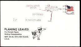 USA Lake Placid Flaming Leaves Station 1979 / Olympic Games Lake Placid / Figure Skating - Winter 1980: Lake Placid