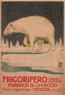 Postcard - Poster Reproduction - Frigorifero Giorgio Signorini Fabbrica Di Ghiaccio Venezia-Mestre (0217) - Publicité