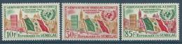 "Senegal YT 210 à 212 "" Admission à ONU "" 1962 Neuf** - Senegal (1960-...)"