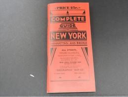 USA - New York - Guide Des Rues - Très Bon état - P 16734 - Books, Magazines, Comics