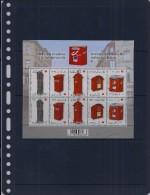 Belgie - Belgique 4130/34 Velletje Van 10 Postfris - Feuillet De 10 Timbres Neufs  -  Oude En Nieuwe Brievenbussen - Feuilles Complètes