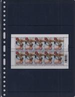 Belgie - Belgique 3783 Velletje Van 10 Postfris - Feuillet De 10 Timbres Neufs  -  Diversiteit Op Werkvloer - Feuilles Complètes