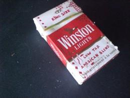 BOX SIGARETTE WINSTON ANNIVERSARIO VUOTI DA COLLEZIONE EDIZIONE LIMITATA RARI !! - Empty Cigarettes Boxes