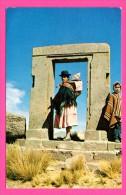 Bolivia - Bolivie - Puerta De La Luna Tiahuanaco - Gate Of The Moon - Animée - LUSTERCHROME - JIMENEZ CORDERO - Bolivia