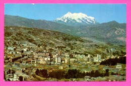 Bolivia - Bolivie - La Paz - Illimani-Panoramica - LUSTERCHROME - JIMENEZ CORDERO - Bolivia