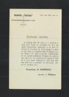 Romania Stationery 1909 Societatea Filantropia - Ganzsachen