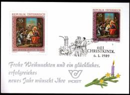 Austria CHRISTKINDL 1989 Christmas Christianity - Christianity