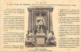 - Pays Divers - Ref - F835 - Pays Bas - Nederland -  S M La Reine Des Pays Bas Depose Une Couronne De Laurier ... - Pays-Bas