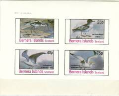 Bernera Island MNH Imperforated Sheetlet, Local Issue - Fantasy Labels