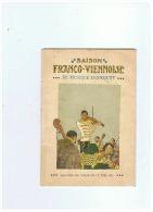 SAISON FRANCO VIENNOISE THEATRE DU VAUDEVILLE  JUIN 1911 - Théatre & Déguisements