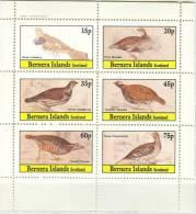 Bernera Island MNH Sheetlet, Local Issue - Fantasy Labels