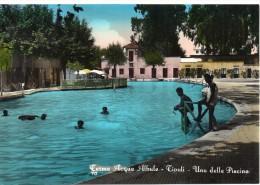 Lazio-roma-bagni Di Tivoli Terme Acque Albule Veduta Di Una Delle Piscine Anni 50 - Italia