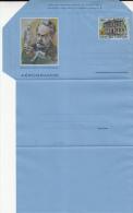 MEDICINE, LOUIS PASTEUR, VACCINATION, AEROGRAMME, 1995, VATICAN - Médecine