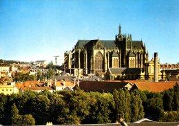 FRANCE. Carte Postale Ayant Circulé En 1976. Cathédrale De Metz. - Metz