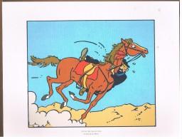 PLANCHE DESSIN TINTIN.....26 Strip 8 - Platten Und Echtzeichnungen
