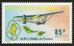 WALLIS FUTUNA 1991 MICROLIGHT AIRCRAFT SET MNH - Unused Stamps