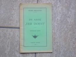 Historische Schets Van De Abdij ¨Ter Doest¨ In Lissewege Door Lucien Dendooven, 1953, 32 Pp. - Otros