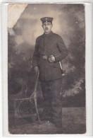 WWI - EMPIRE ALLEMAND ALLEMAGNE - DALGOW DOBERITZ - 261 EME REGIMENT - 1915 - GRIFFE - CARTE PHOTO MILITAIRE - Guerre 1914-18