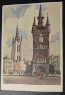 Kortrijk: De Grote Markt // Naar Een Schilderij Van Herman Verbaere (0853) - Kortrijk