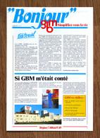 Rare Brochure Publicitaire Bière GBM (Grande Brasserie Moderne), Roubaix, Nord - Autres
