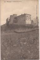 PRIVAS  - LYAS : Le Chateau De Liviers - Privas