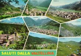 SONDRIO-VALTELLINA-SALUTI DA-VEDUTE-S.CATERINA DI VALFURVA-CHIESA-SONDALO - Sondrio