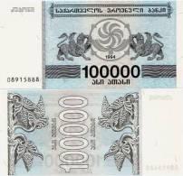 GEORGIA      100,000 Lari      P-48Ab     1994      UNC   [ 100000 ] - Georgia