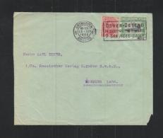 Lettre Anvers 1922 - Postdokumente