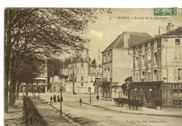 4 Niort -avenue De La Quintinie Timbre Recto 1908 - Niort