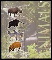 GHANA   2450  MINT NEVER HINGED MINI SHEET OF WILDLIFE & ANIMALS - Sin Clasificación