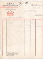 O.S.P.I. ORGANIZZAZIONE SOLAI PREFABBRICATI - IMOLA - PER DITTA DI MOLINELLA (BOLOGNA) - DATATA ANNO 1963 - Italie