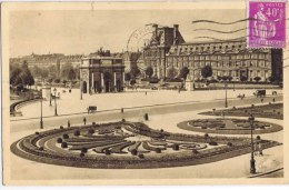Cpa  PARIS  PLACE DU CARROUSEL - Markten, Pleinen