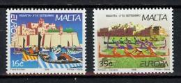 Europa CEPT Malte 1998 Y&T N°1015 à 1016 - Michel N°1041 à 1042 *** - Europa-CEPT