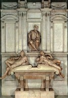 Firenze - Cappelle Medicee - Monumento A Lorenzo De´ Medici (Michelangelo) - Firenze (Florence)
