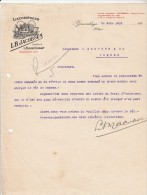 Lettre 1919 LB JACOBSEN Likeurstoker Distillateur - ´s GRAVENHAGE - Pays-Bas