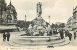 34 MONTPELLIER LES TROIS GRACES LL - Montpellier