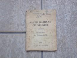 Pater Damiaan De Veuster Door J.F.Vincx, Averbode, 1936, 24 Pp. - Libros, Revistas, Cómics