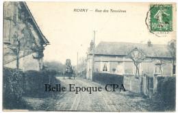 27 - ROSAY-sur-LIEURE - Rue Des Tennières +++++ Lesade, Phot. +++++ 1924 +++++ RARE / Diligence - Francia