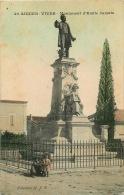 30  AIGUES VIVES   LE MONUMENT D'EMILE JAMAIS - Aigues-Vives