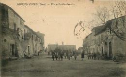 30  AIGUES VIVES   PLACE 'EMILE JAMAIS - Aigues-Vives