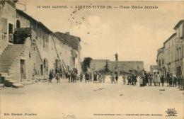 30  AIGUES VIVES   PLACE EMILE JAMAIS  9 - Aigues-Vives