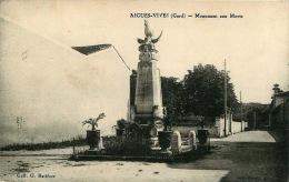 30  AIGUES VIVES  MONUMENT AUX MORTS - Aigues-Vives