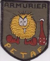 Insigne Tissu Velcro Armurier Pétaf Armée De L´Air Le Mécanicien Armement - Armée De L'air