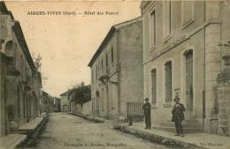 30  AIGUES VIVES  HOTEL DES POSTES - Aigues-Vives