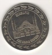 TURQUIE,TURKEI TURKEY THE HAGIA SOPHIA ,THE BLUE MOSQUE COMMEMORATIVE MEDAL - Autres