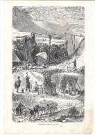 Orsay Carrières De Pierres  -  Page Extraite La Semaine Des Enfants Année 1861 - Dessin Gravure - Vieux Papiers