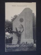 TRELON - Monument Aux Morts WW1 - PUB Lucien KNIDLER & Cie - France