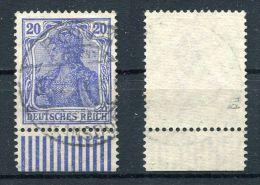 D. Reich Michel-Nr. 87IId Mit Rand Vollstempel - Geprüft - Gebraucht