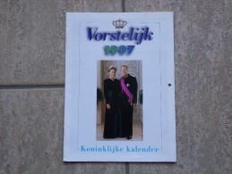 Koninklijke Kalender Vorstelijk 1997 1996, 16 Pp. - Livres, BD, Revues