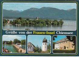 FRAUEN-INSEL CHIEMSEE  -  GERMANY  Ungelaufen  - - Deutschland